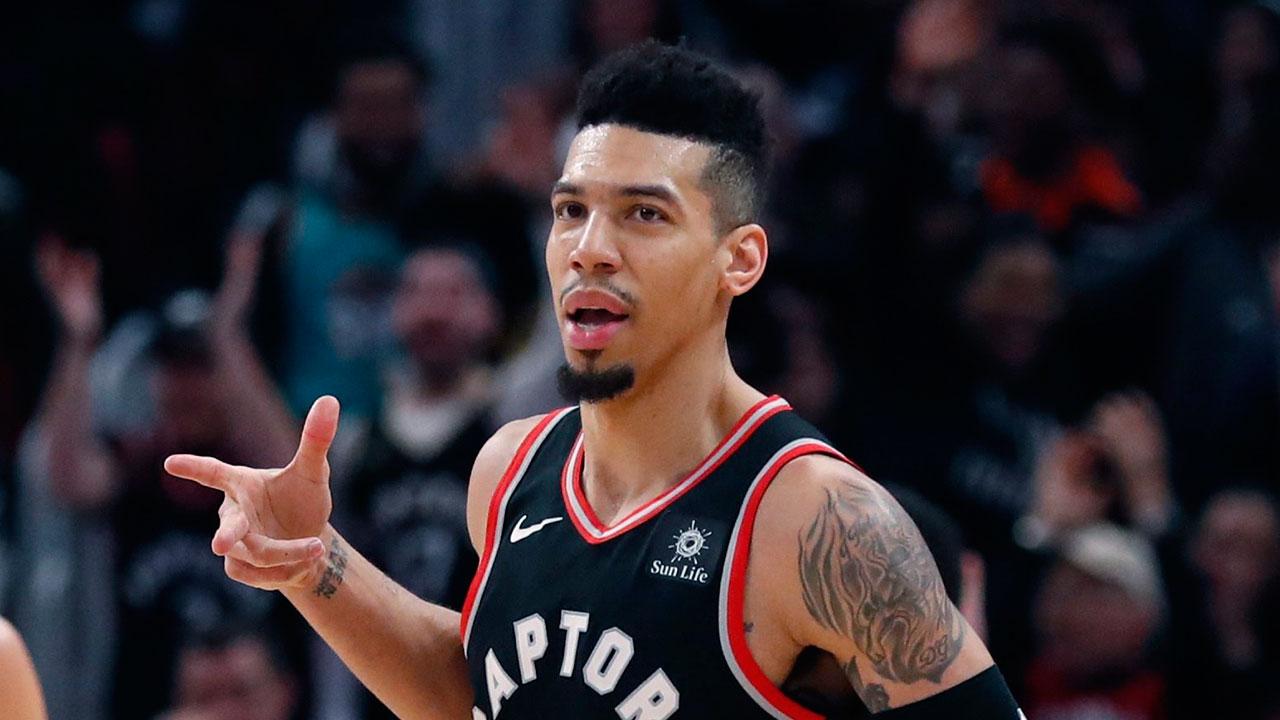 NBA-Raptors-Green-celebrates-shot