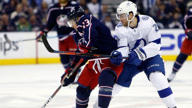 NHL-Blue-Jackets-Atkinson-skates-against-Lightning