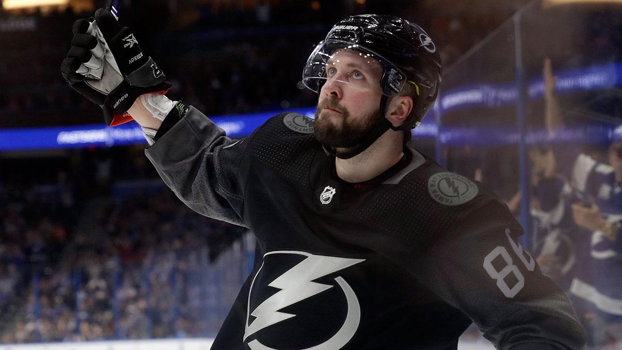 NHL-Lightning-Kucherov-celebrates-goal
