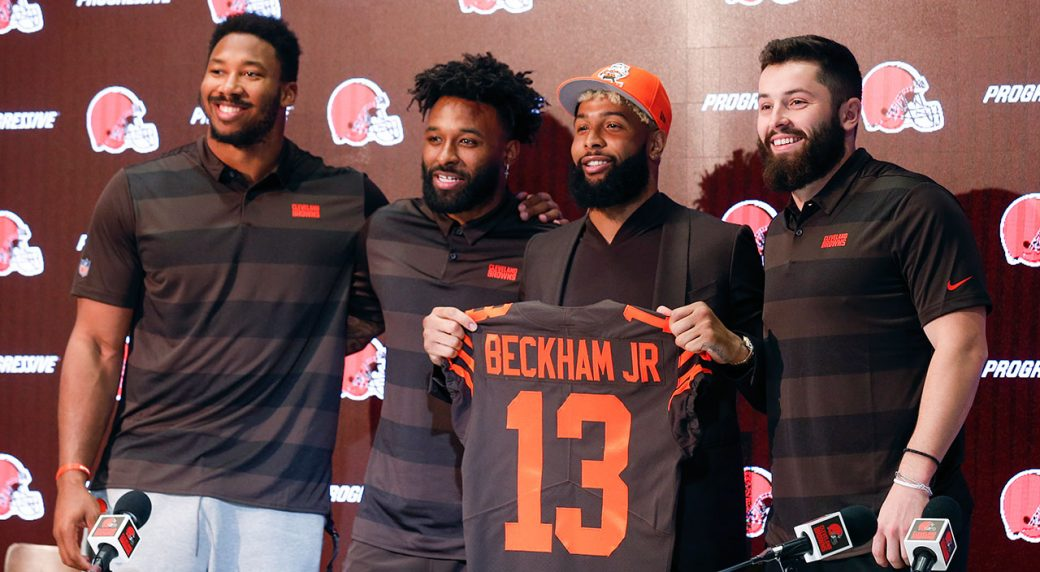 Image result for odell beckham browns