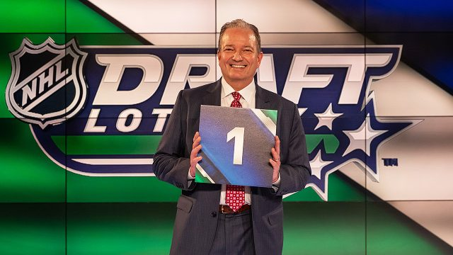 NHL-Draft-Lottery;-New-Jersey;-Ray-Shero