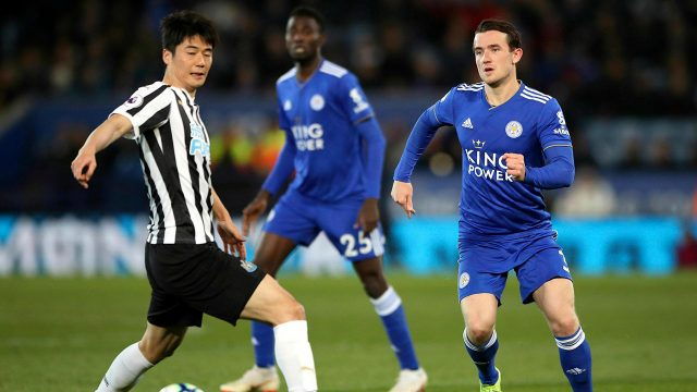 Soccer-Leicester-plays-against-Newcastle