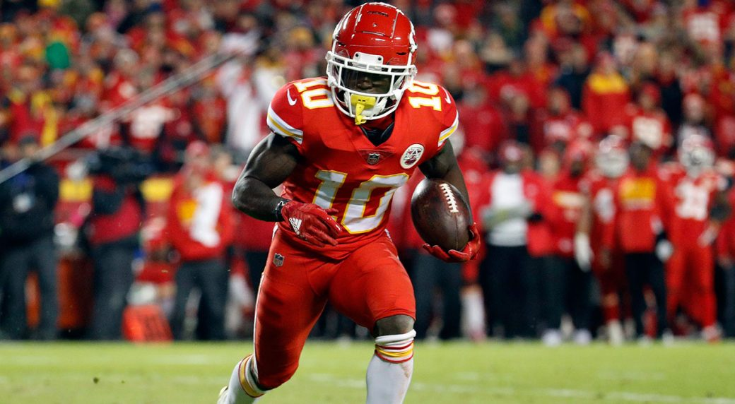 NFL will not suspend Chiefs' Tyreek Hill in case involving son