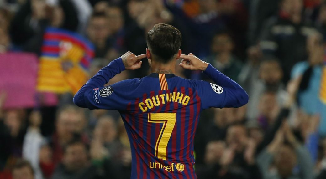 huge selection of ece24 33bc6 Barcelona fans still upset with Philippe Coutinho - Sportsnet.ca