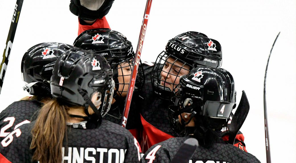 Canada Rebounds For Bronze Medal At Women S World Hockey