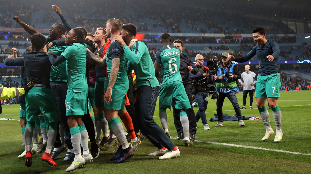 Tottenham Stuns Man City To Reach Champions League Semis Sportsnet ca