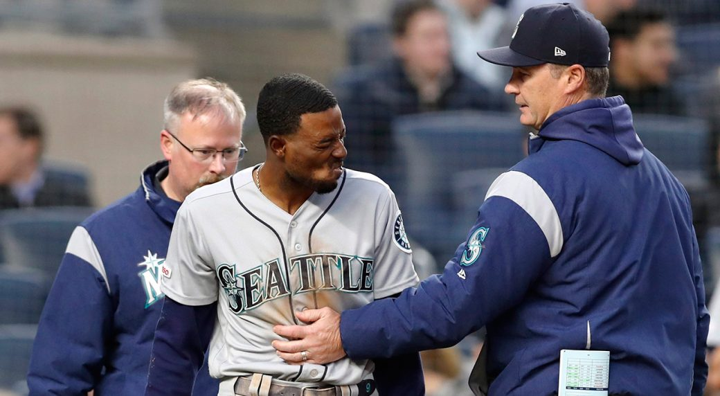 new arrival 4b8b8 ef51b Mariners place Dee Gordon, Ryon Healy on 10-day injured list ...