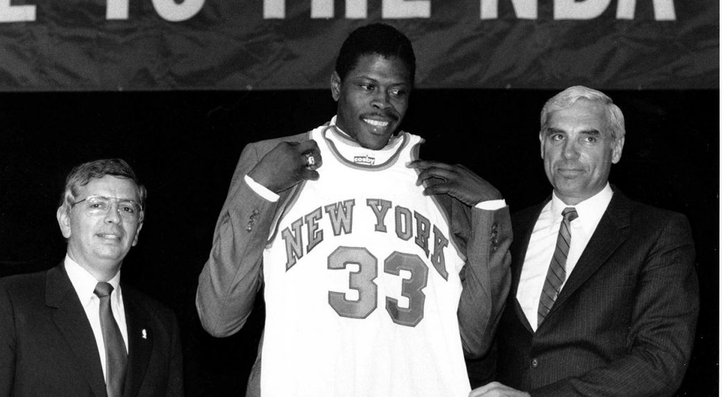 Why the Patrick Ewing draft lottery conspiracy is ridiculously