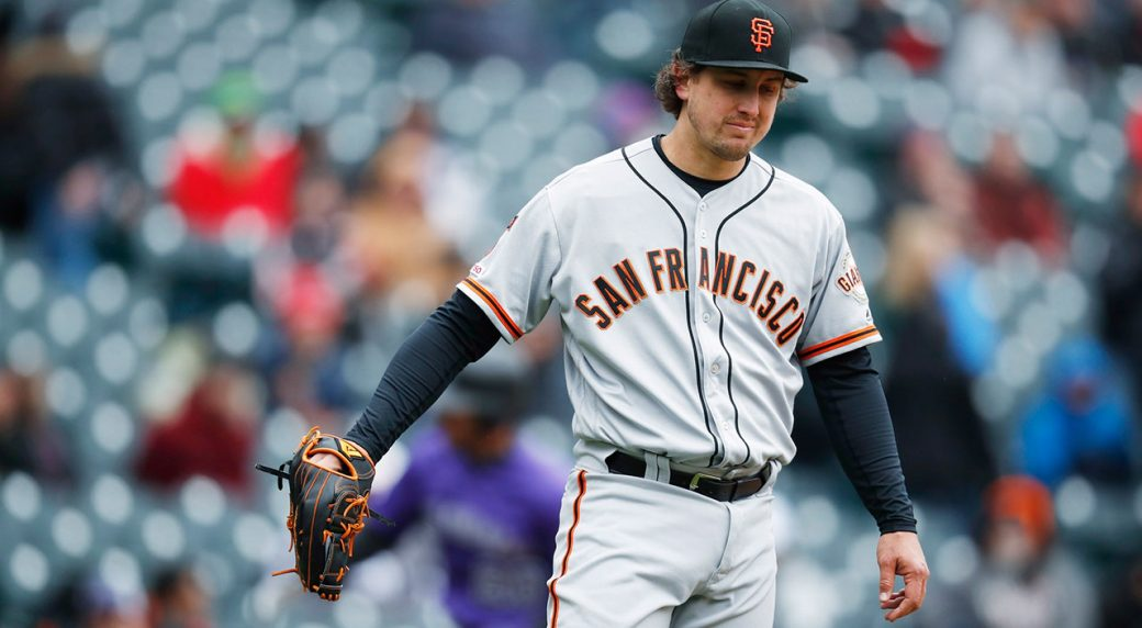 MLB-Giants-Holland-throws-against-Rockies