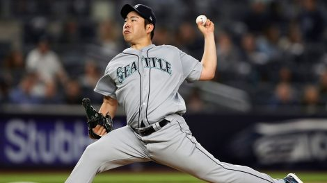 MLB-Mariners-Kikuchi-delivers-against-Yankees
