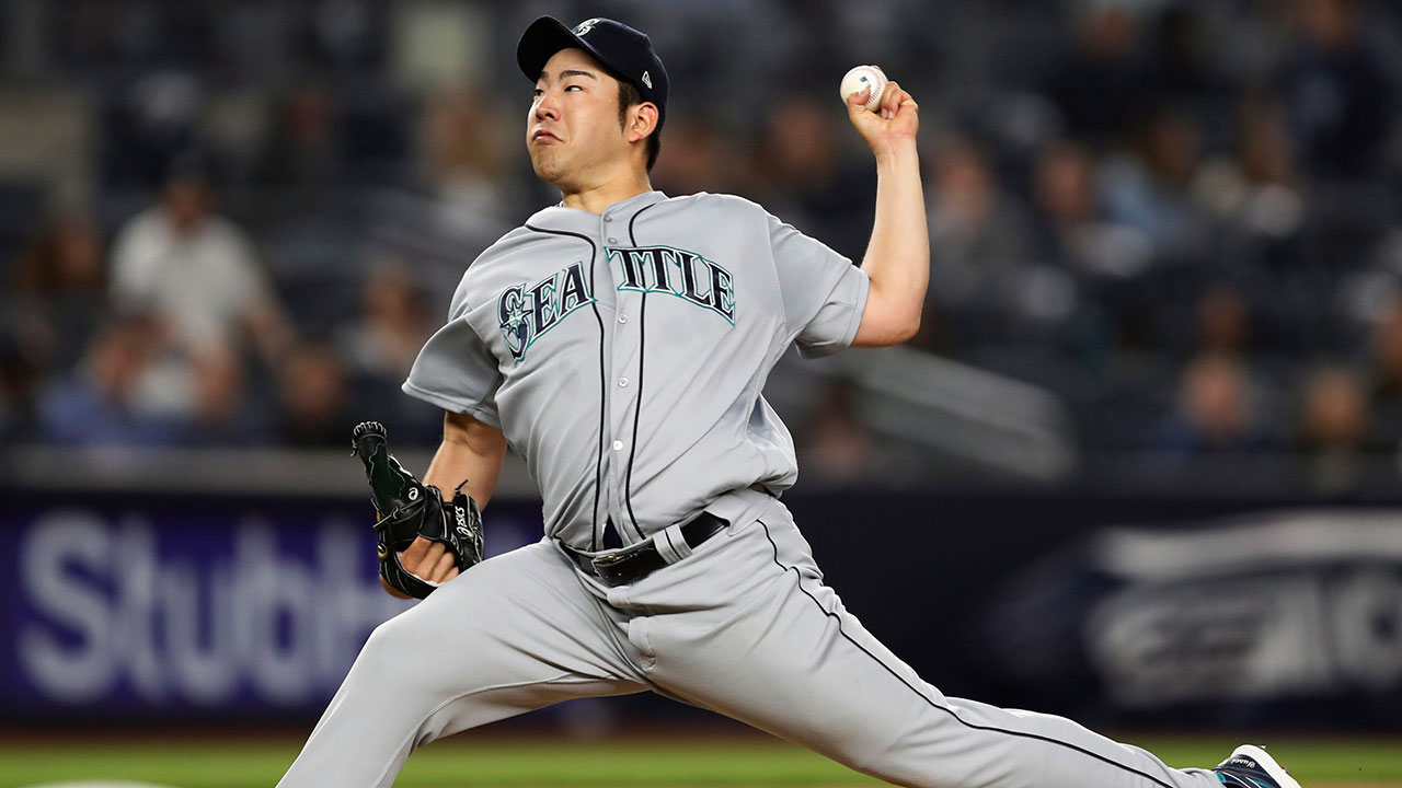 Image result for Kikuchi shuts out Blue Jays for Mariners