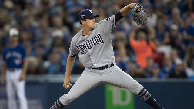 MLB-Padres-Quantrill-throws-against-Blue-Jays