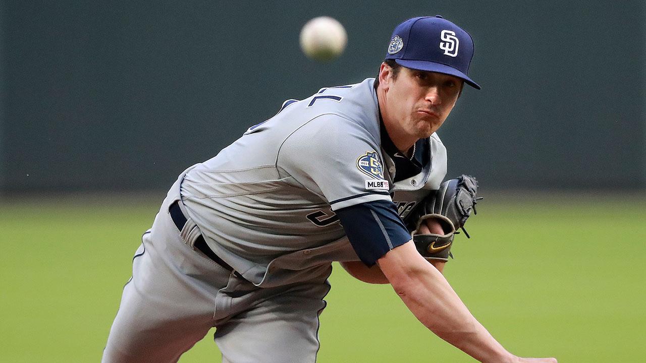 MLB-Padres-Quantrill-throws-against-Braves