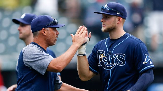 MLB-Rays-Meadows-celebrates-win-with-manager