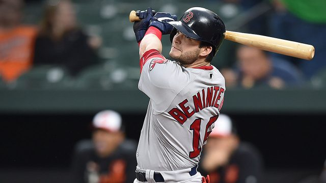 MLB-Red-Sox-Benintendi-follows-through-on-double