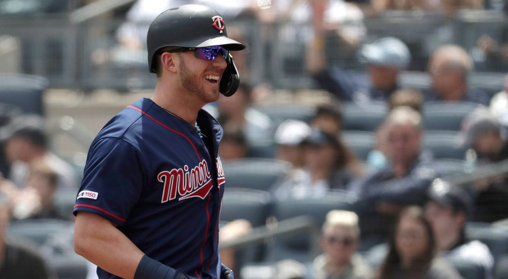 MLB-Twins-Garver-smiles-after-hitting-home-run
