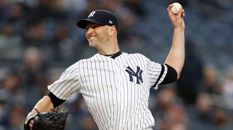 MLB-Yankees-Happ-throws-against-Mariners