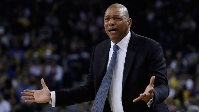 NBA-Clippers-coach-Rivers-pleads-to-officials