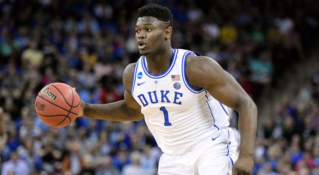 NBA-Duke-Williamson-dribbles-against-Florida