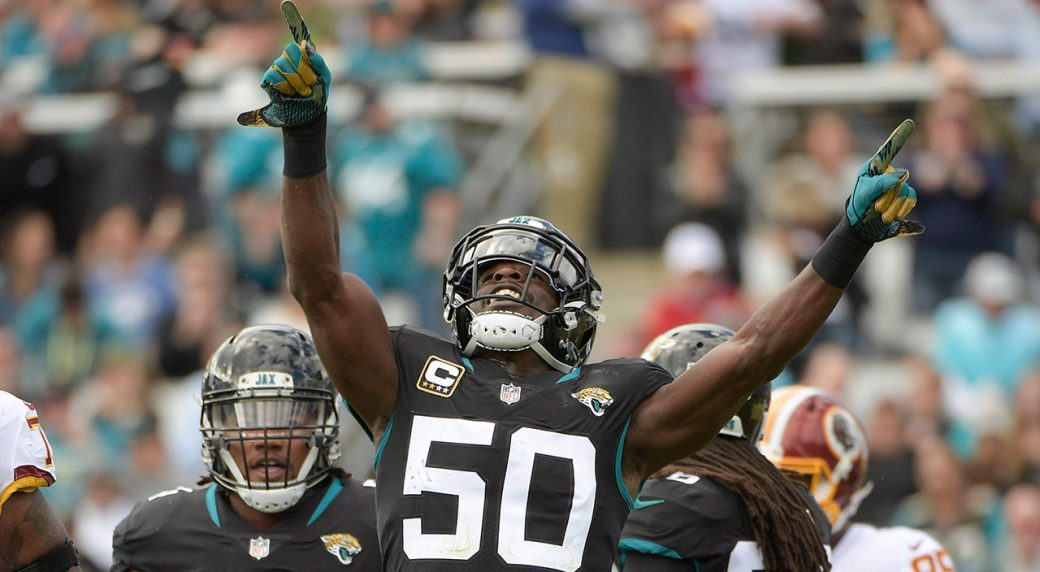 NFL-Jaguars-Smith-celebrates-after-defensive-play
