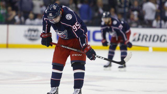 NHL-Blue-Jackets-Duchene-skate-off-after-losing