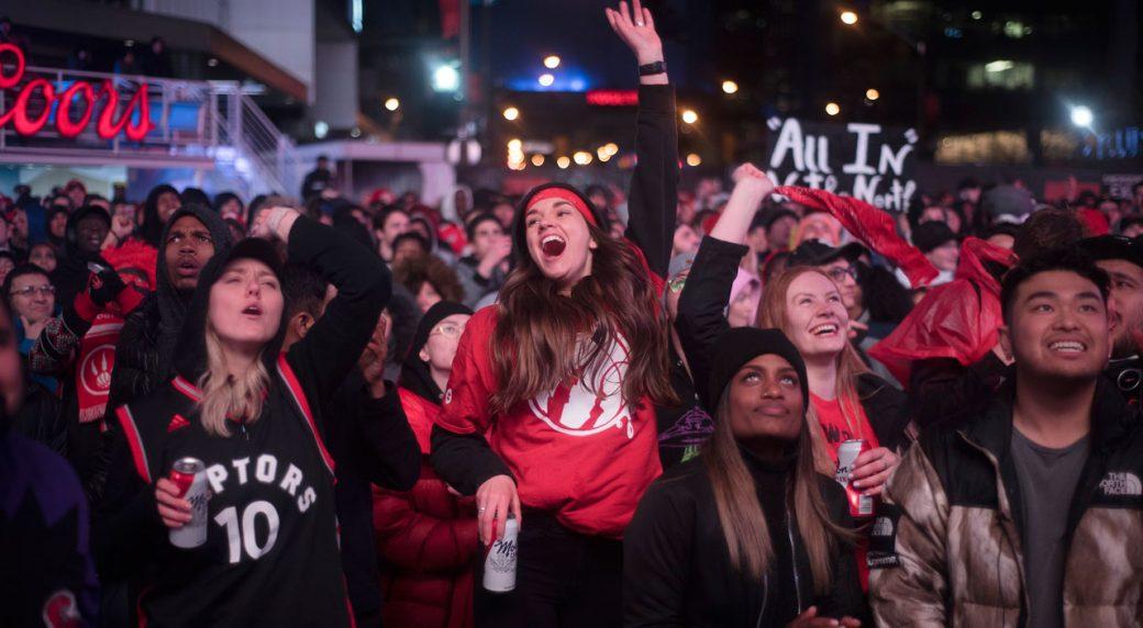 online retailer 0e226 e181b Raptors' playoff run fuels major growth of NBA fanbase in ...