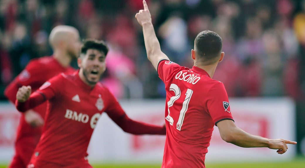 Soccer-MLS-Toronto-FC-Osorio-celebrates-goal