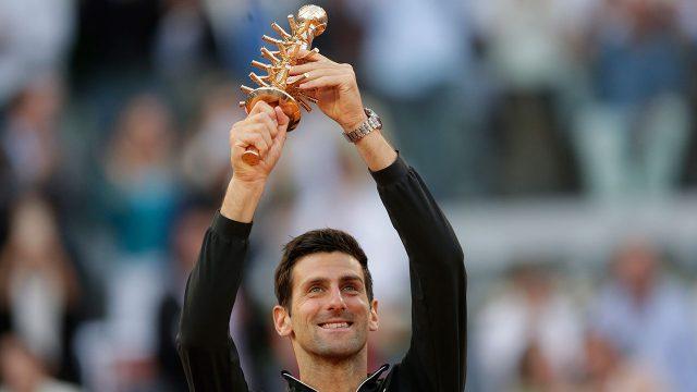 Tennis-Djokovic-celebrates-after-winning-Madrid-Open