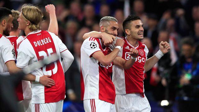 ajax-teammates-celebrate-after-scoring-against-tottenham