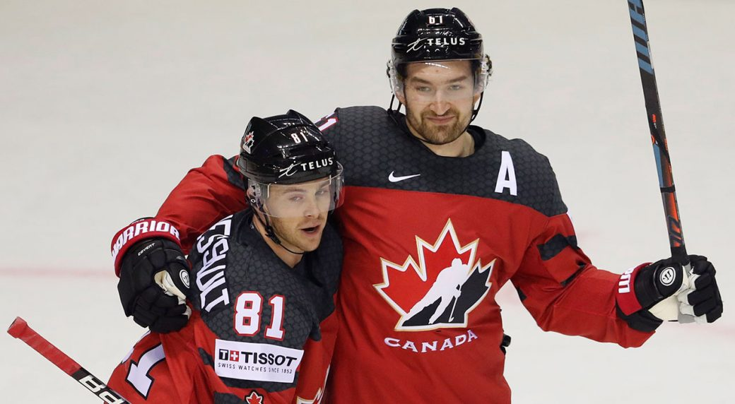 Stone Gets Hat Trick As Canada Dumps Germany At World Hockey