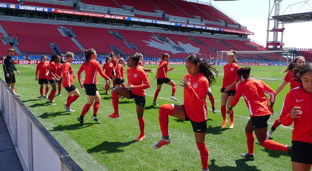 Canada ready for final match against Mexico before Women's
