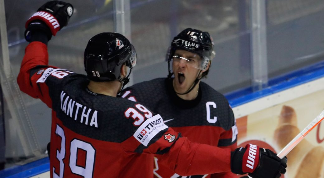 Canada Blanks U S Finishes First In Group A At World Championship