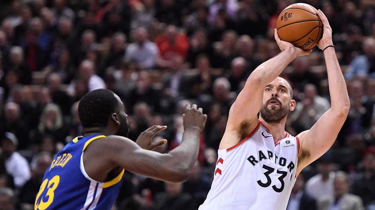 Raptors favourites hosting Warriors on NBA Finals Game 2