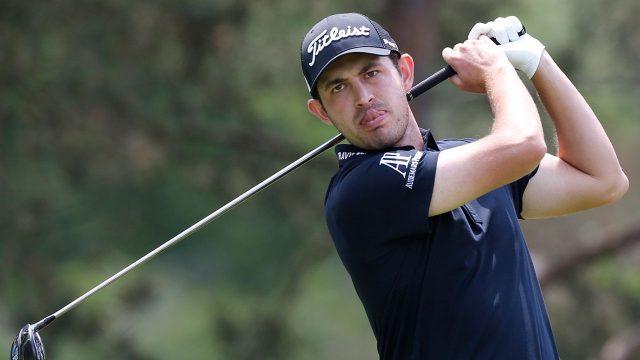 Golf-PGA-Cantlay-follows-through-after-shot