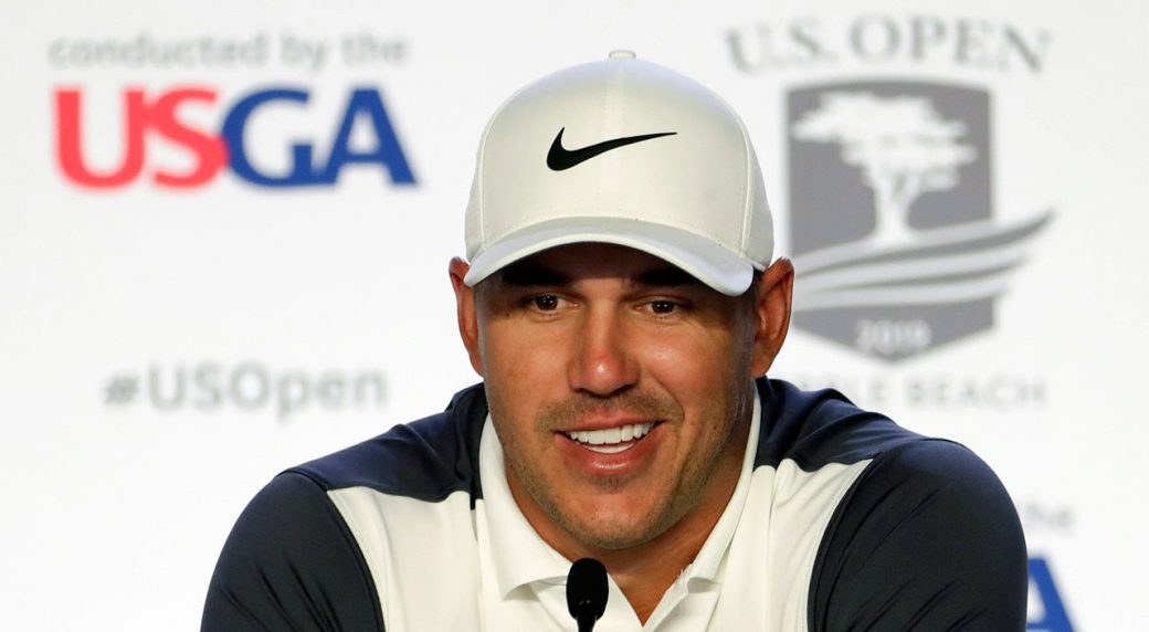Golf-PGA-Koepka-speaks-to-media