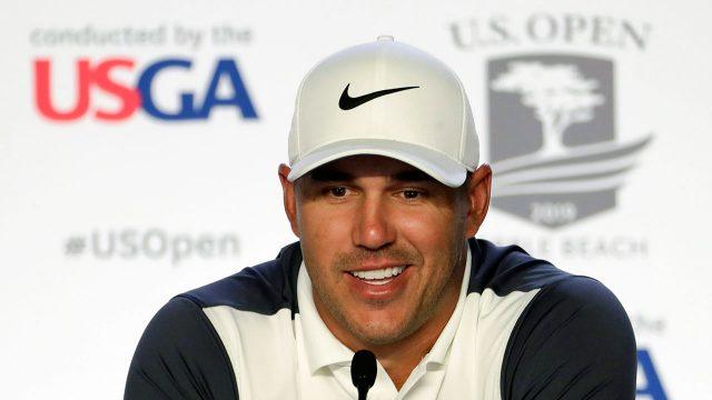 Golf-PGA-Koepka-speaks-to-media