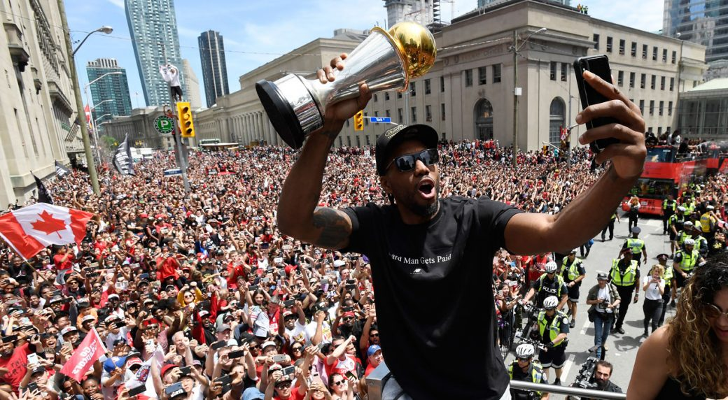 Kawhi: I had a great time, it's the next chapter