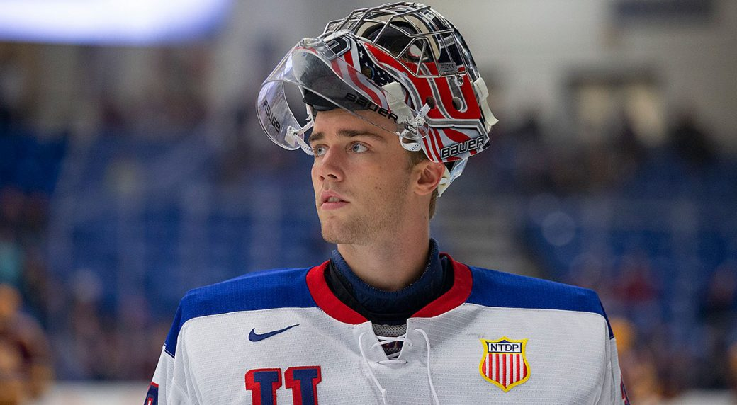 Spencer Knight On Track To Join Exclusive Goalie Group At 2019 Nhl