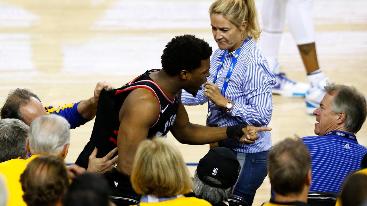 Toronto-Raptors;-NBA-Finals;-Kyle-Lowry;-Mark-Stevens;-Warriors