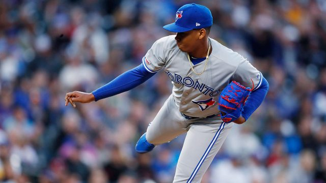 MLB-Blue-Jays-Luciano-throws-against-Rockies