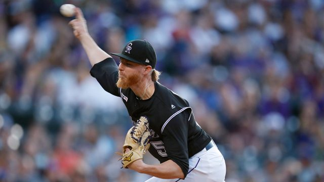 MLB-Rockies-Gray-throws-against-Blue-Jays