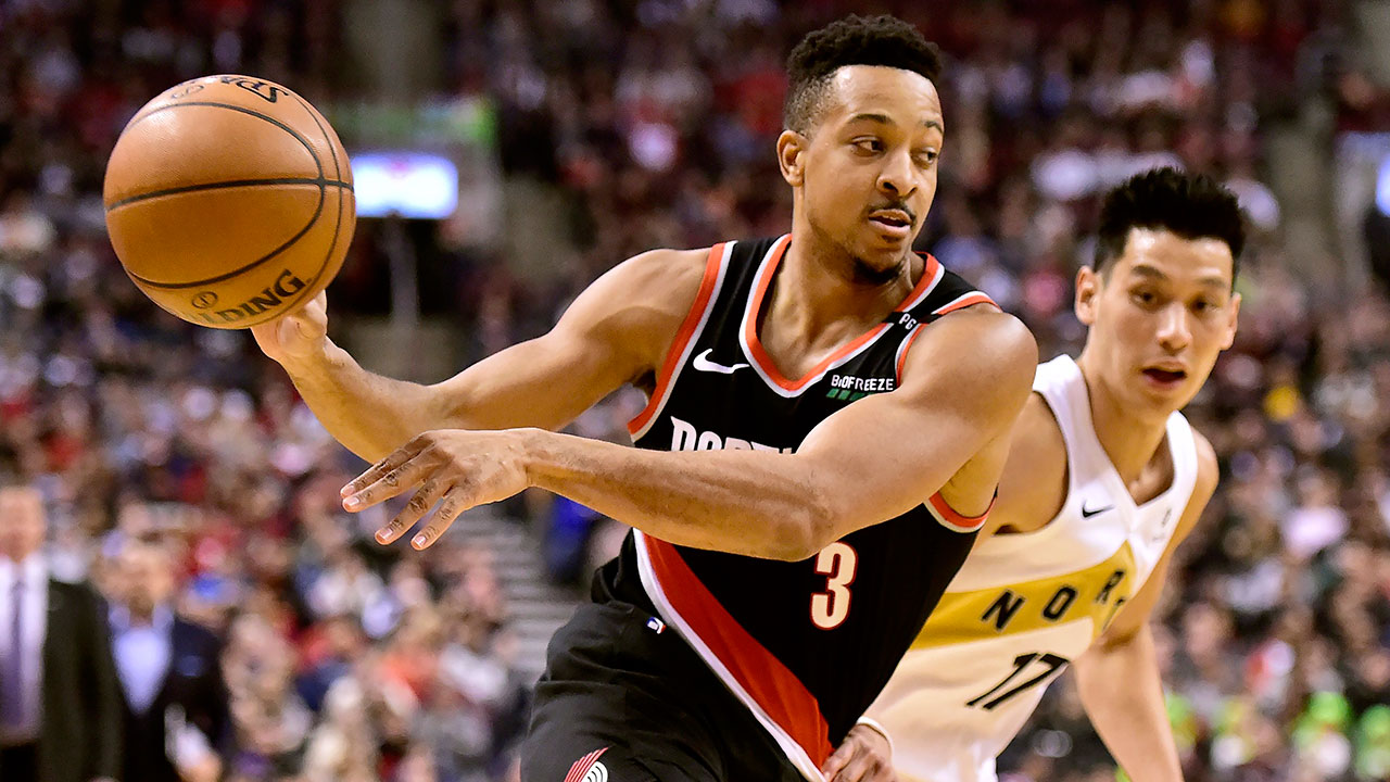 Trail Blazers' McCollum on love for Toronto: 'This place is
