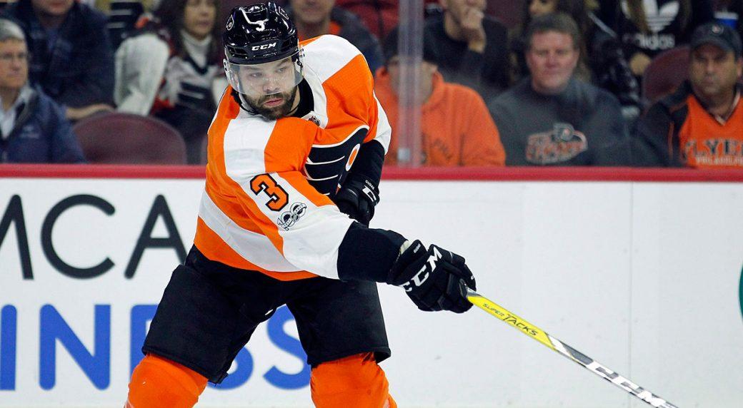 NHL-Flyers-Gudas-makes-pass