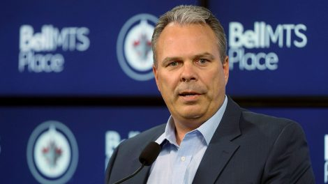 NHL-Jets-GM-Cheveldayoff-speaks-to-media