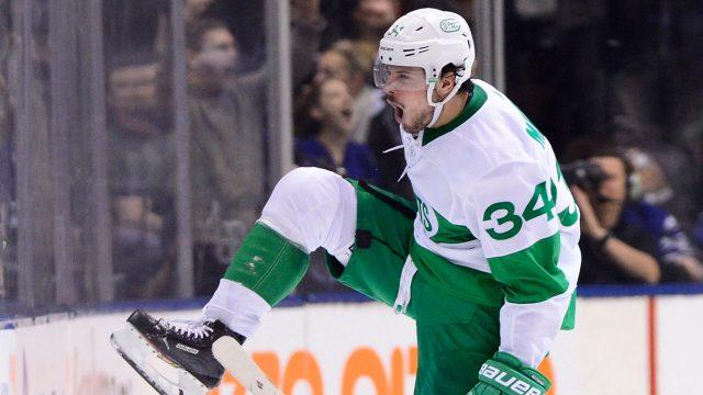 NHL-Maple-Leafs-Matthews-celebrates-goal