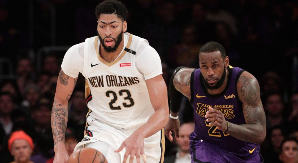 a721c10d Report: LeBron James to 'gift' his No. 23 to Anthony Davis ...