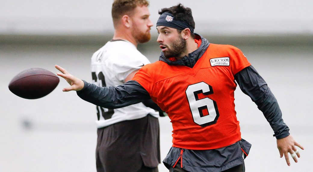 browns-quarterback-baker-mayfield-at-training-facility