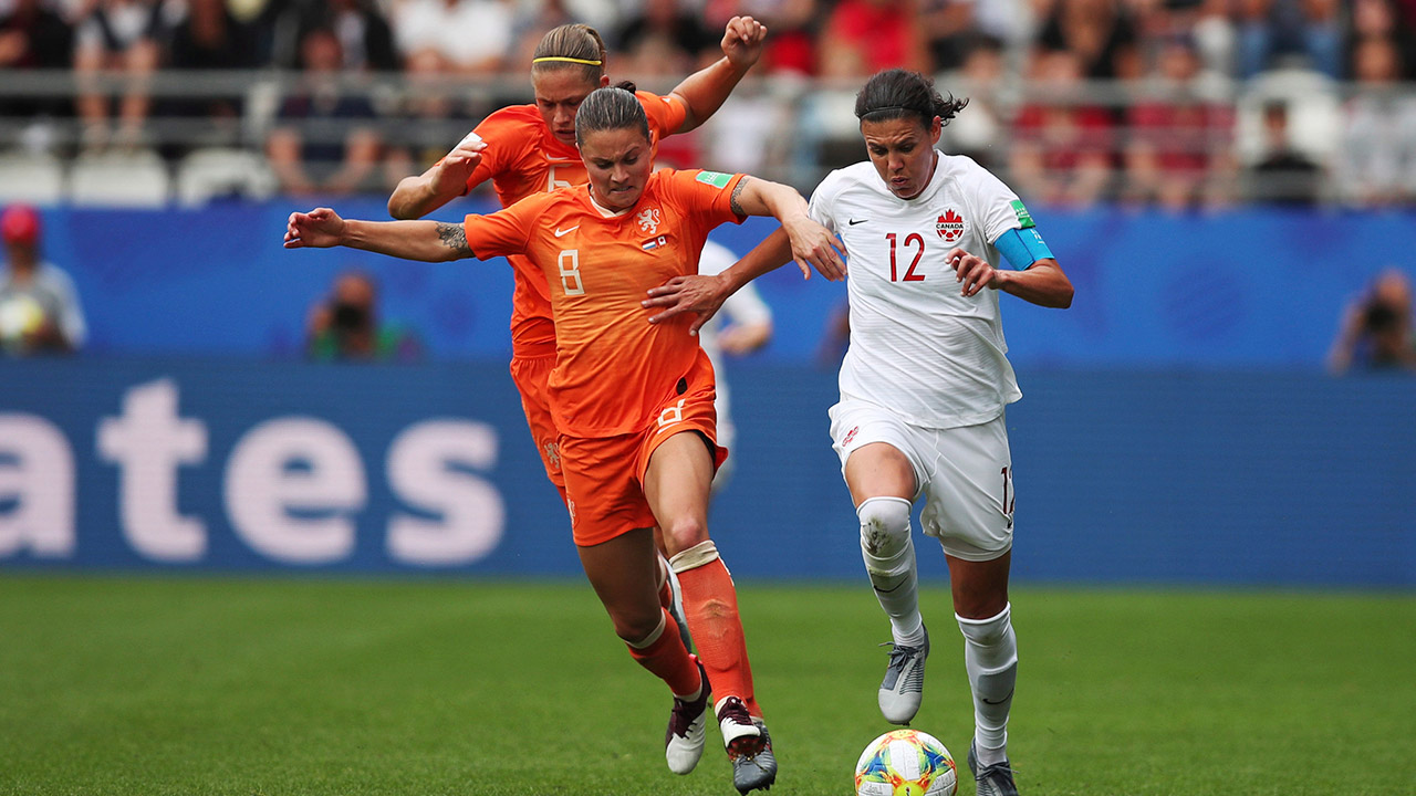 Christine Sinclair scores goal No. 182 vs. Dutch at World Cup - Sportsnet.ca