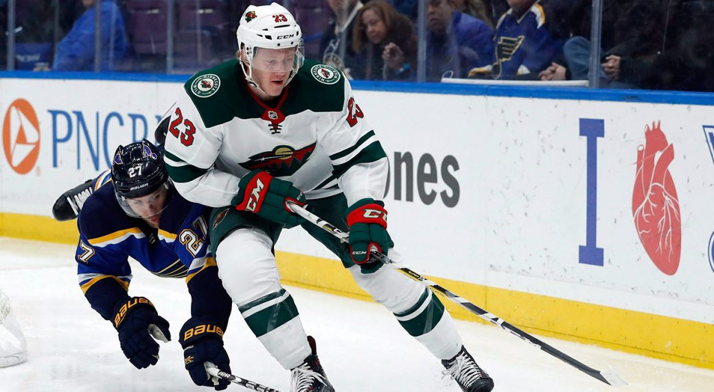 gustav-olofsson-as-a-member-of-the-minnesota-wild