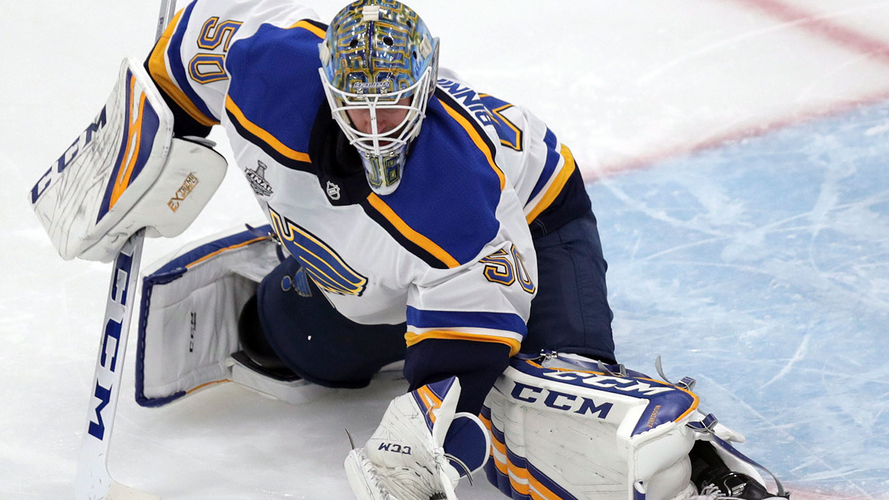 Blues Gm Stanley Cup Hero Binnington To Earn Big Pay Raise